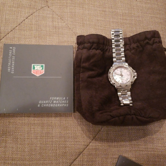 Tag Heuer Jewelry - 2005 Tag Heuer Formula 1 Diamond Watch